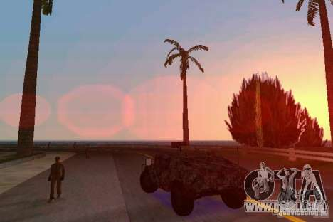 Hummer HMMWV M-998 1984 for GTA Vice City back left view