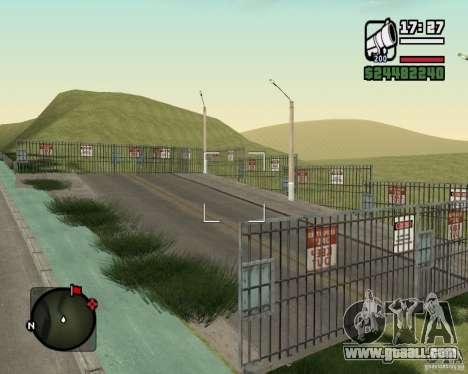 Gosport Road-Nižegorodsk for GTA San Andreas sixth screenshot