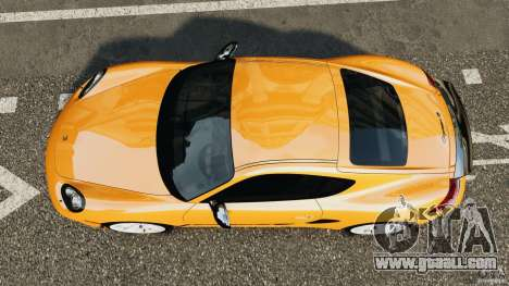 Porsche Cayman R 2012 [RIV] for GTA 4 right view