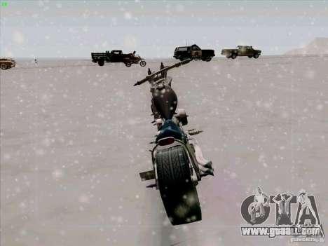 Harley for GTA San Andreas back view