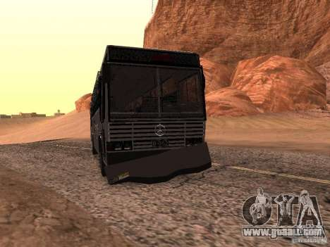 Mercedes Benz SWAT Bus for GTA San Andreas inner view