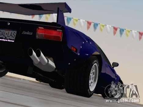 De Tomaso Pantera GT4 for GTA San Andreas interior