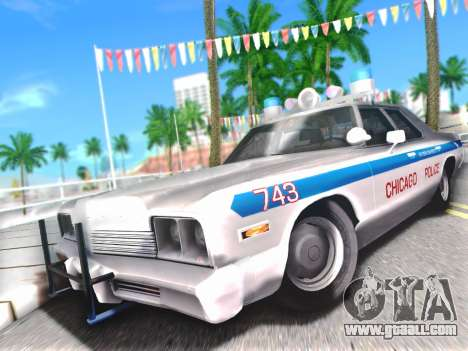 Dodge Monaco 1974 for GTA San Andreas side view