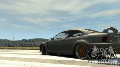 Sentinel Grand Sport for GTA 4 left view