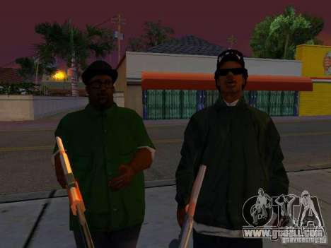 Grove Street Forever for GTA San Andreas fifth screenshot