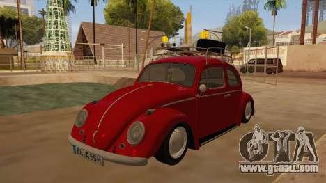 VW Beetle 1966 for GTA San Andreas