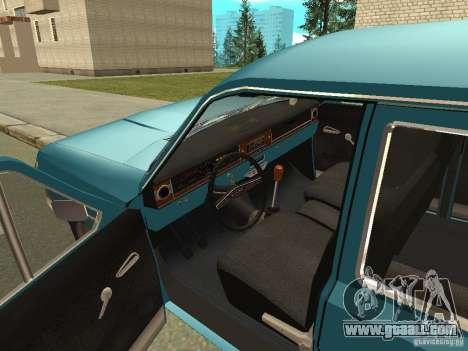 GAZ Volga 24-12 for GTA San Andreas back view