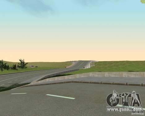 Finished building the road to Criminal Russia for GTA San Andreas