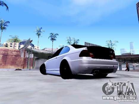 BMW 318i E46 Drift Style for GTA San Andreas left view