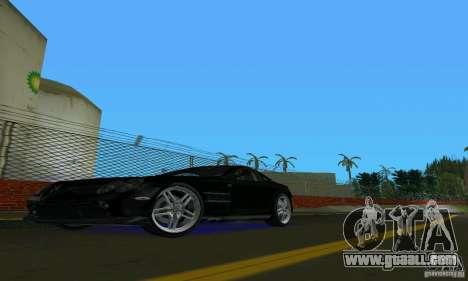 Mercedes-Benz SLR McLaren 722 Black Revel for GTA Vice City left view