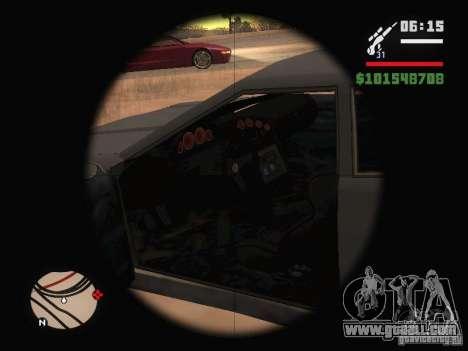 New Elegy for GTA San Andreas upper view