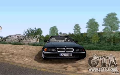 BMW 730i E38 for GTA San Andreas left view