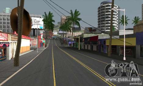 Real HQ Roads for GTA San Andreas eighth screenshot