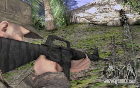 M16A1 Vietnam war for GTA San Andreas forth screenshot
