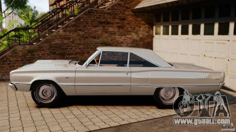 Dodge Coronet 1967 for GTA 4 left view