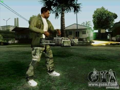 Minigun from Duke Nukem Forever for GTA San Andreas forth screenshot