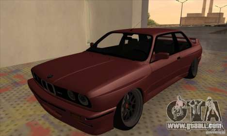 BMW M3 E30 1990 for GTA San Andreas