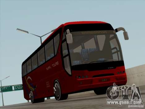 Neoplan Tourliner. Rural Tours 1502 for GTA San Andreas upper view