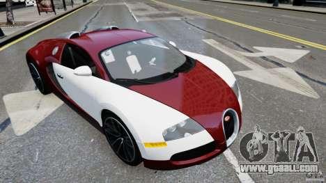 Bugatti Veyron 16.4 v1.0 wheel 1 for GTA 4 back left view