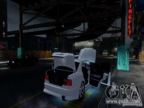 Toyota Chaser 100 TourerV for GTA 4 interior