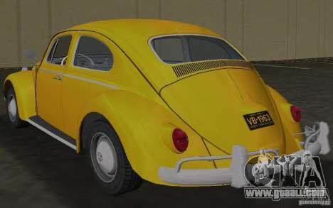 Volkswagen Beetle 1963 for GTA Vice City right view