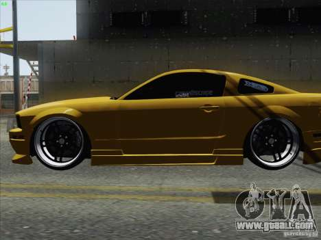 Ford Mustang GT Lowlife for GTA San Andreas back left view