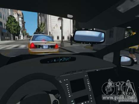 Toyota Prius EKO TAXI (Hrvatski taxi) for GTA 4 back view