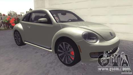 Volkswagen Beetle Turbo 2012 for GTA San Andreas left view