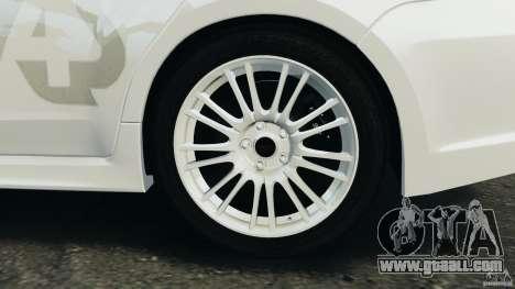 Subaru Impreza WRX STi 2011 G4S Estonia for GTA 4 engine