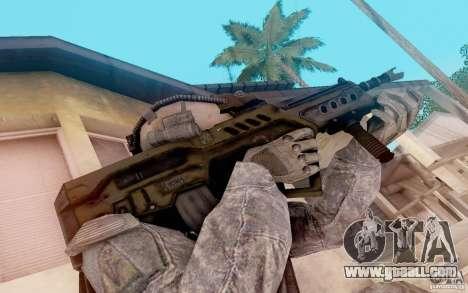 Tavor Ctar-21 from warface for GTA San Andreas