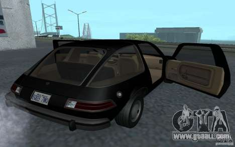 AMC Pacer for GTA San Andreas back view