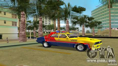Ford Falcon 351 GT Interceptor for GTA Vice City back left view