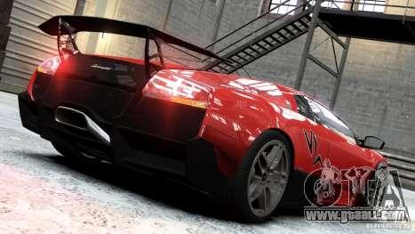 Lamborghini Murcielago LP 670-4 SV 2011 for GTA 4 left view