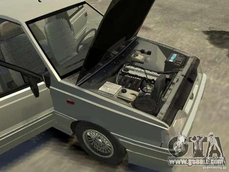 FSO Polonez Atu for GTA 4 bottom view