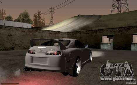 Toyota Supra D1 1998 for GTA San Andreas