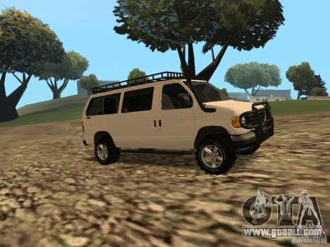 Ford E-150 OffRoad for GTA San Andreas back left view