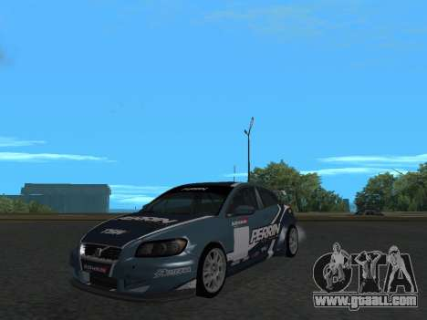Volvo C30 Race for GTA San Andreas right view