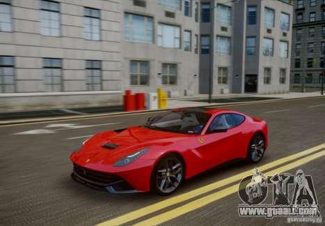 Ferrari F12 Berlinetta 2013 for GTA 4 inner view