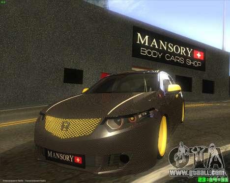 Honda Accord Mansory for GTA San Andreas