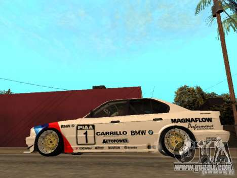 BMW E34 M5 - DTM for GTA San Andreas left view