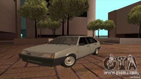 VAZ 2109 Drain for GTA San Andreas