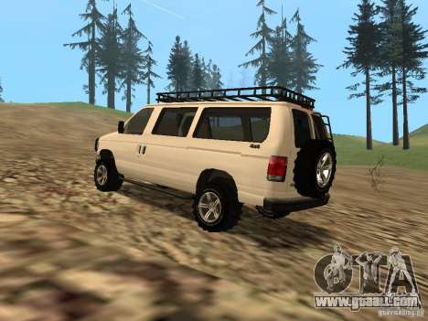 Ford E-150 OffRoad for GTA San Andreas right view