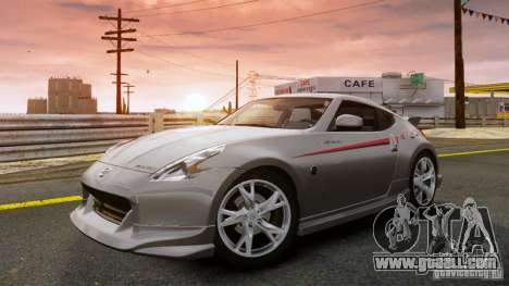 Nissan 370Z NISMO S-Tune for GTA 4