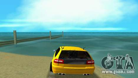 VOLVO V40 for GTA Vice City back left view