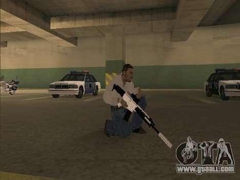 Chrome Weapons Pack for GTA San Andreas third screenshot