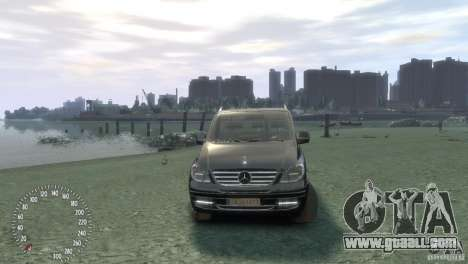 Mercedes-Benz Vito 2013 for GTA 4 right view