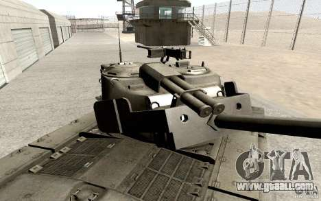T26 E4 Super Pershing v1.1 for GTA San Andreas back view