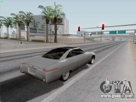 Ford Fortynine for GTA San Andreas back view