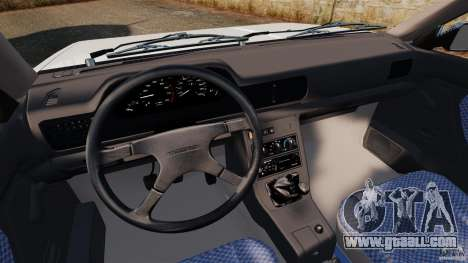 Daewoo-FSO Polonez Caro Plus 1.6 GSI 1998 Final for GTA 4 back left view