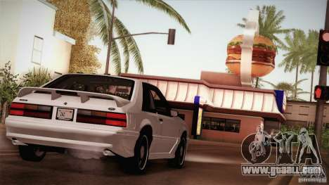 Ford Mustang SVT Cobra 1993 for GTA San Andreas wheels